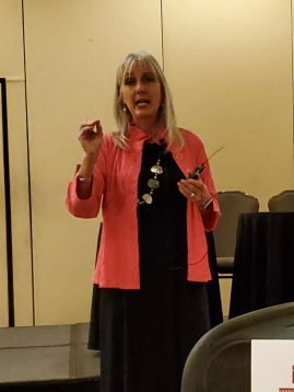Dr. Teri Pipe presenting on Mindfulness and Wellbeing